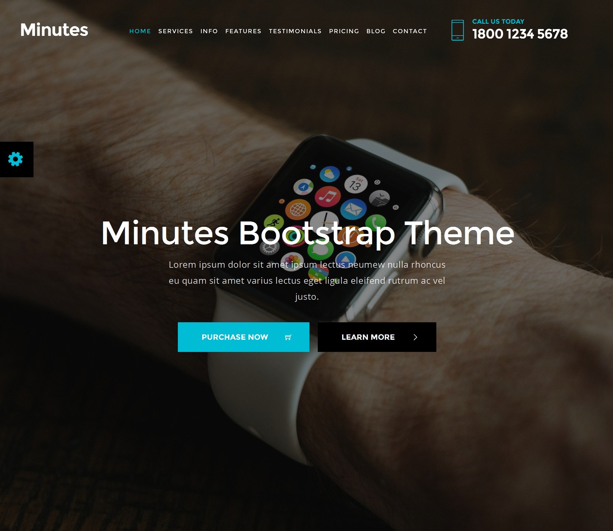 Mobile Bootstrap Basic Theme