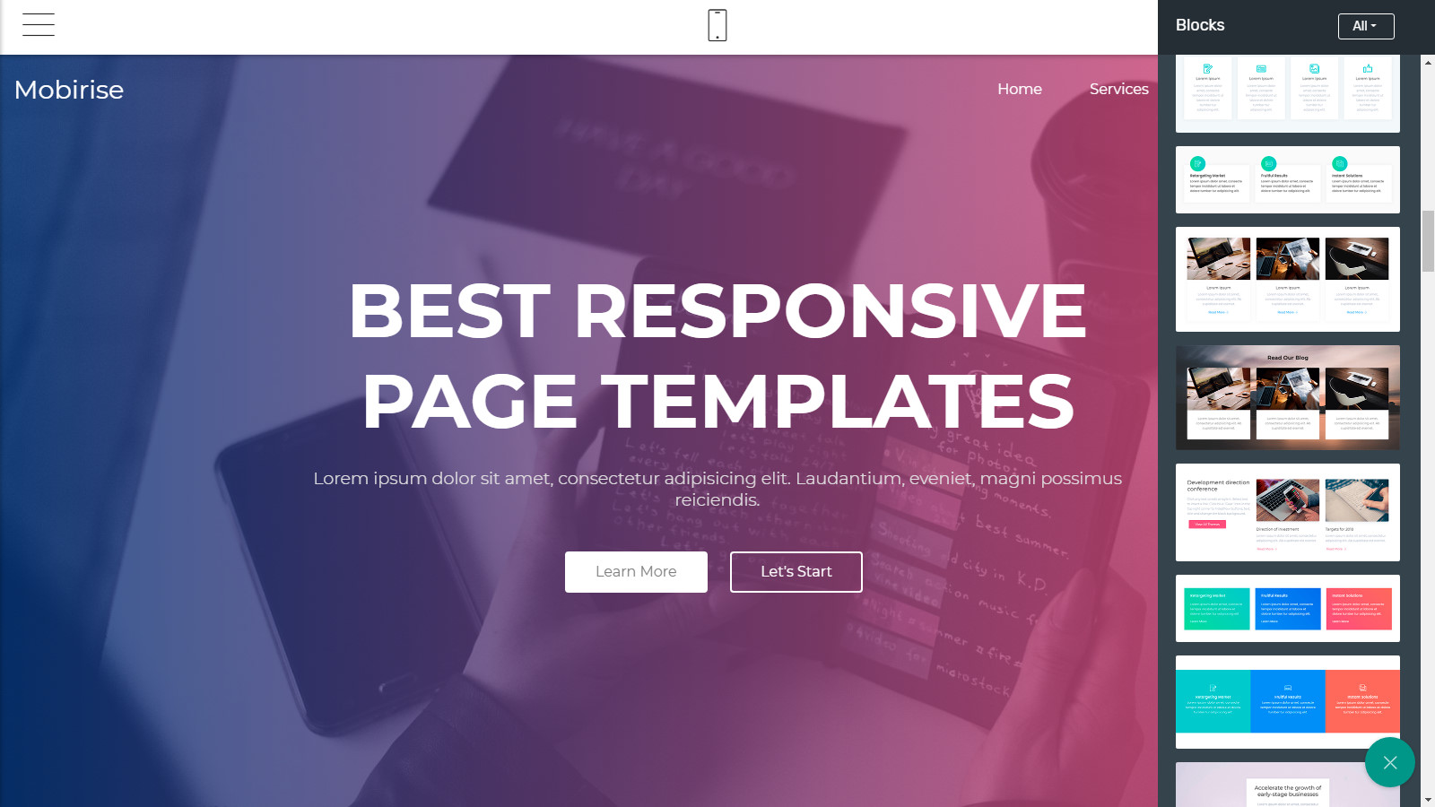 bootstrap site templates