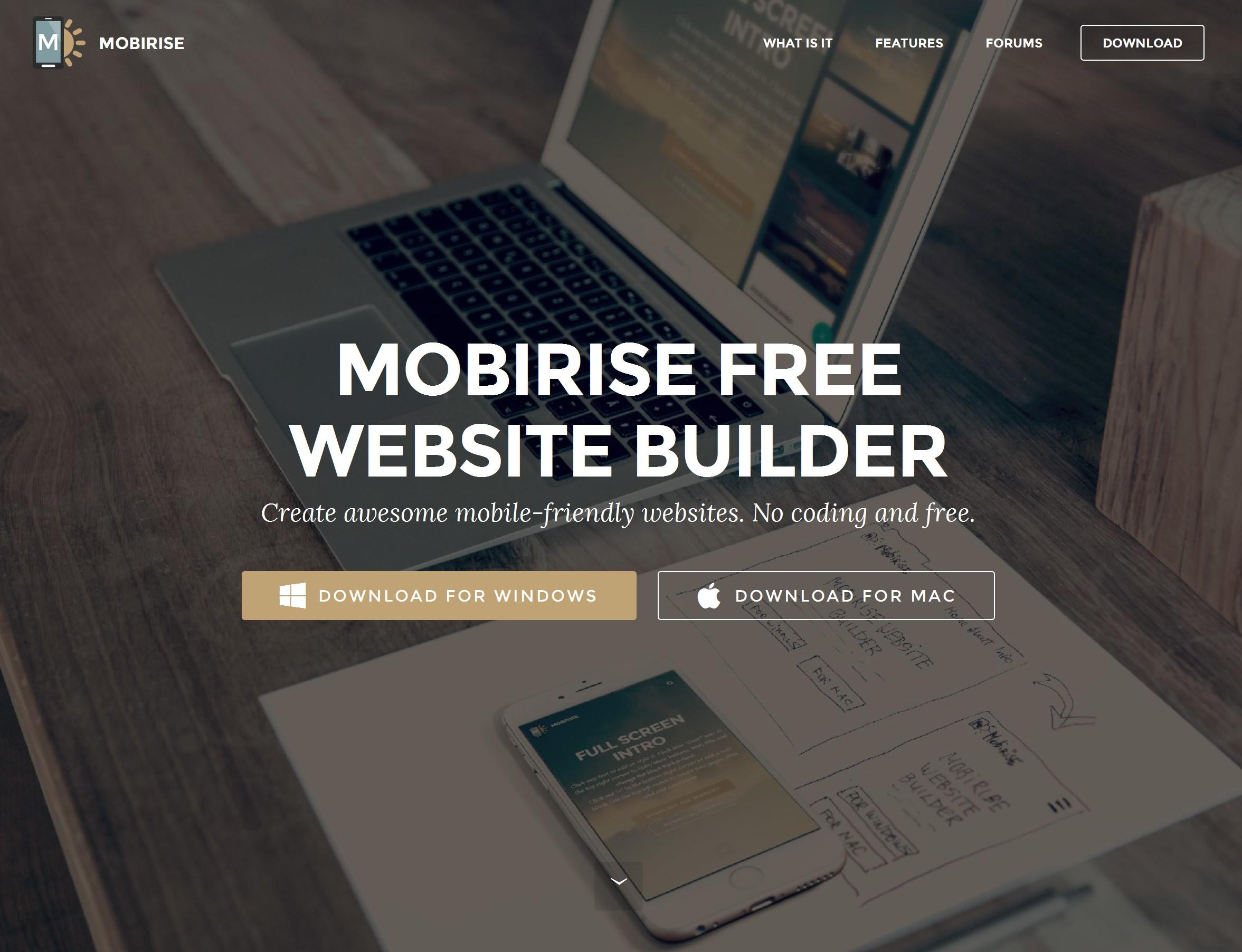Mobile Responsive Web Site Creator