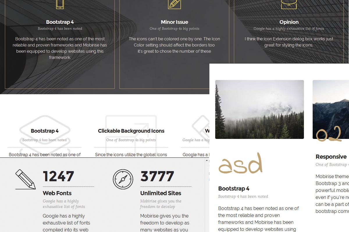 WYSIWYG Responsive Website Builder