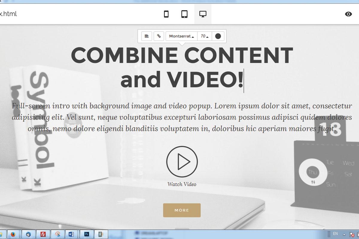 Free Responsive Website Builder Software
