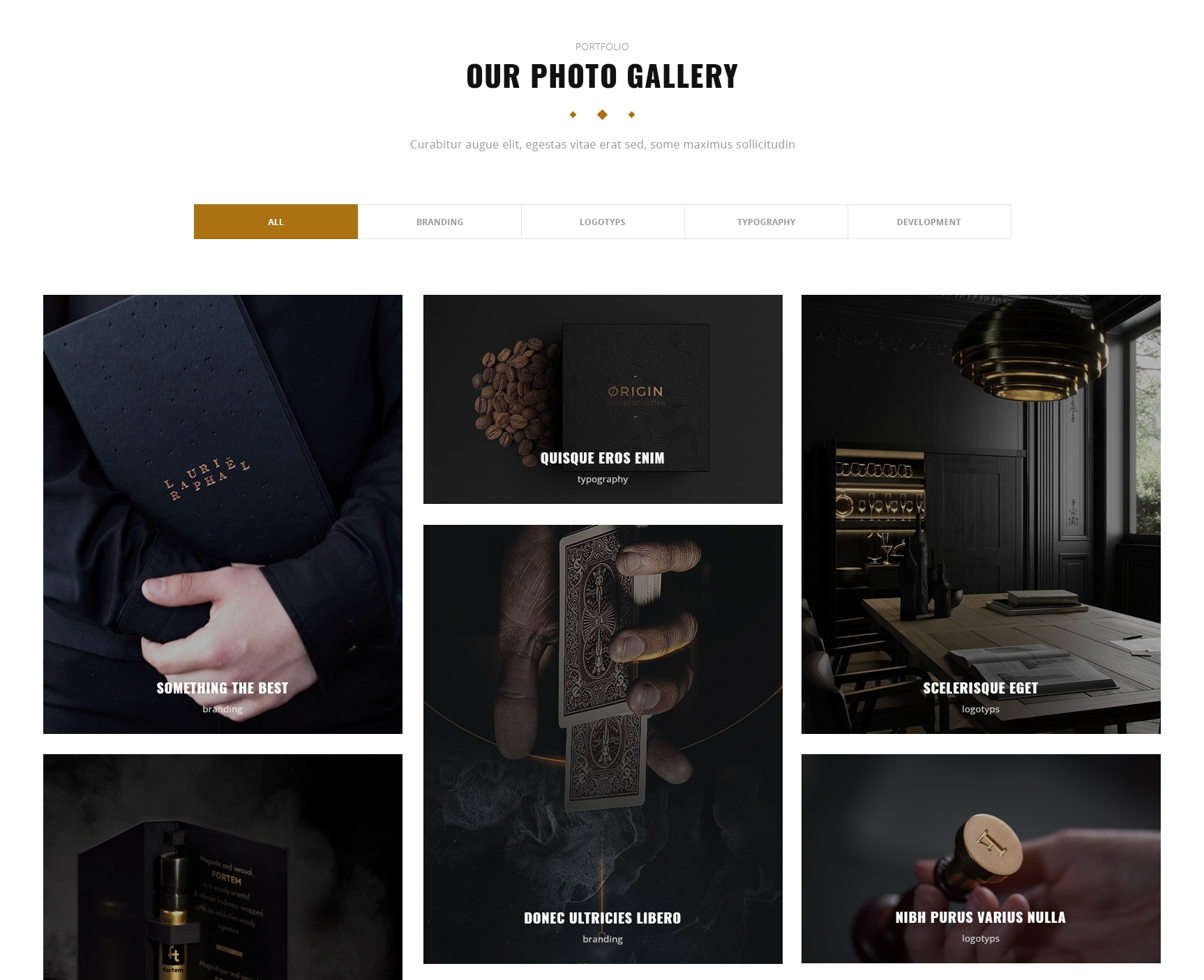 HTML5 Bootstrap Gallery Theme
