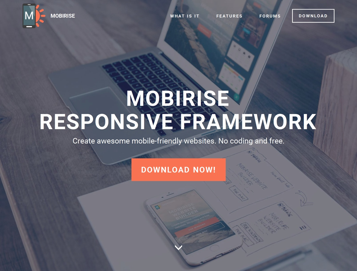 Mobile Responsive Web Template
