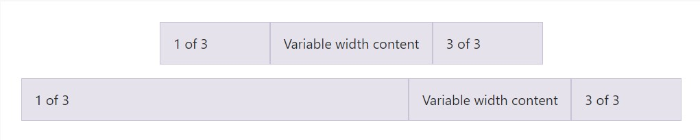 Variable  size  web content