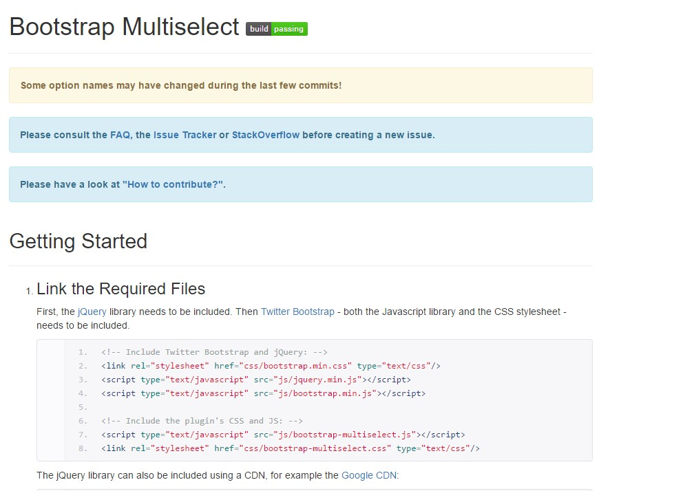Bootstrap multiple select  article