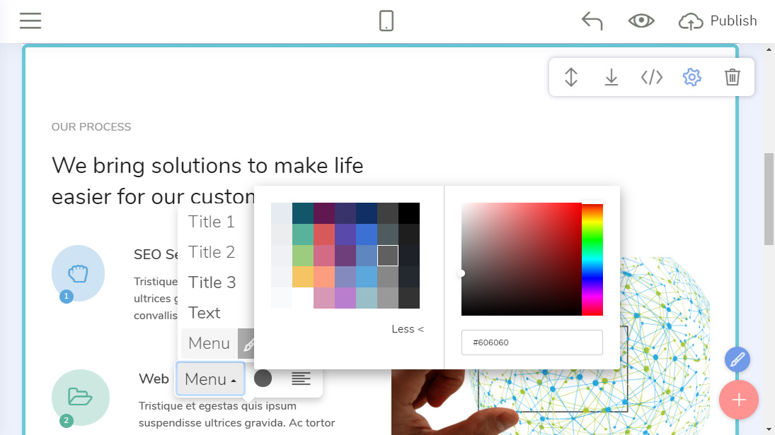Easy Web Page Maker